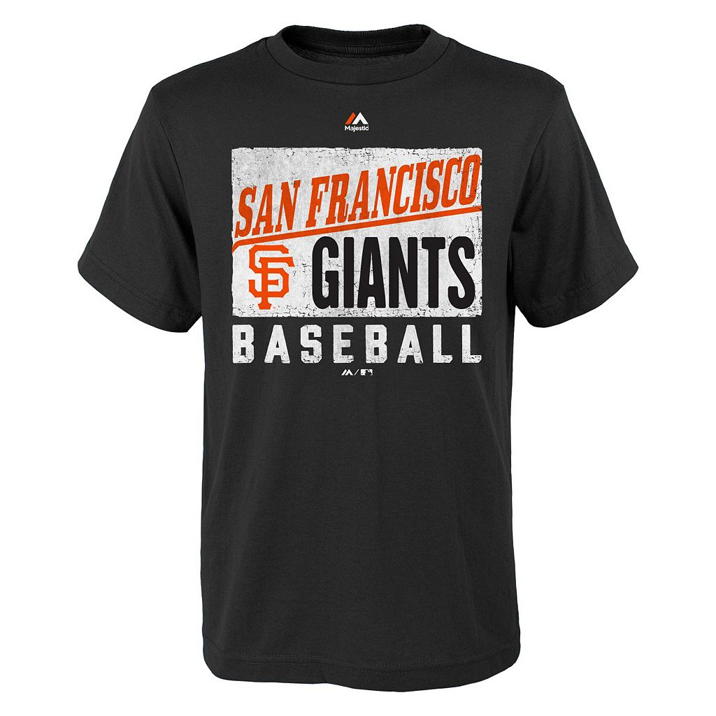 Boys 8-20 Majestic San Francisco Giants Out of the Box Tee