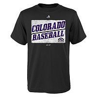 Boys 8-20 Majestic Colorado Rockies Out of the Box Tee