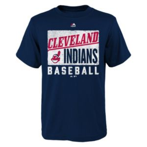 Boys 8-20 Majestic Cleveland Indians Out of the Box Tee