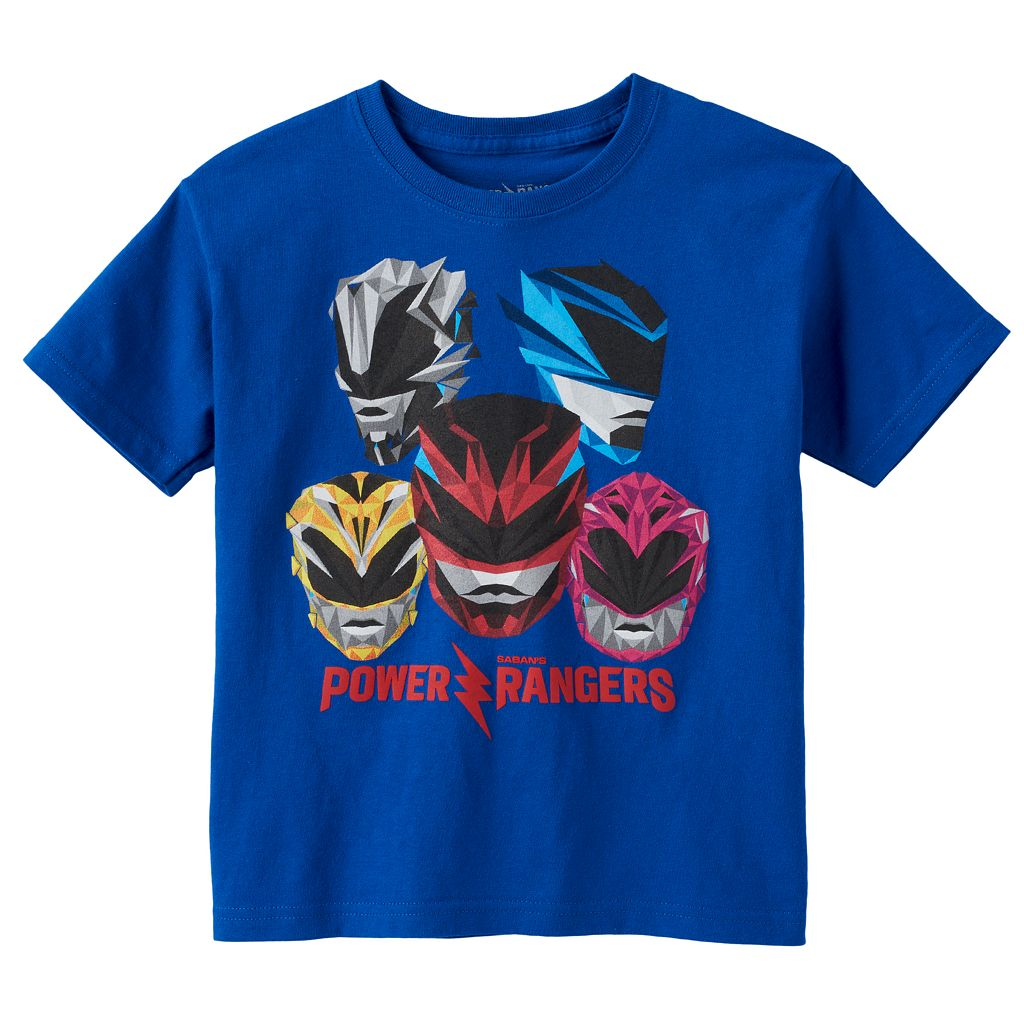 Boys 4-7 Power Rangers Graphic Tee