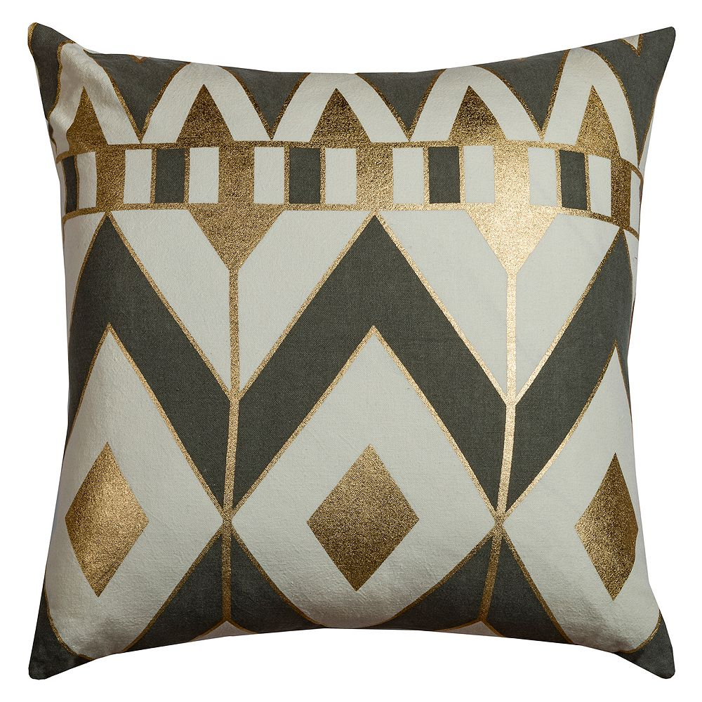 Rizzy Home Geometric II Throw Pillow