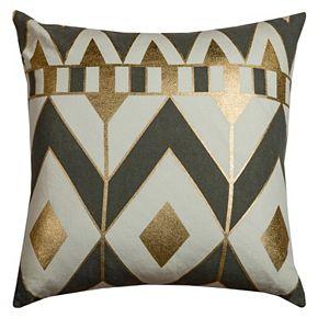 Rizzy Home Geometric II Throw Pillow