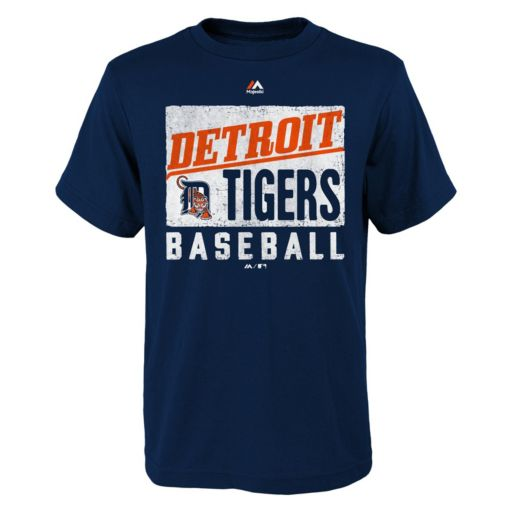 Boys 8-20 Majestic Detroit Tigers Out of the Box Tee