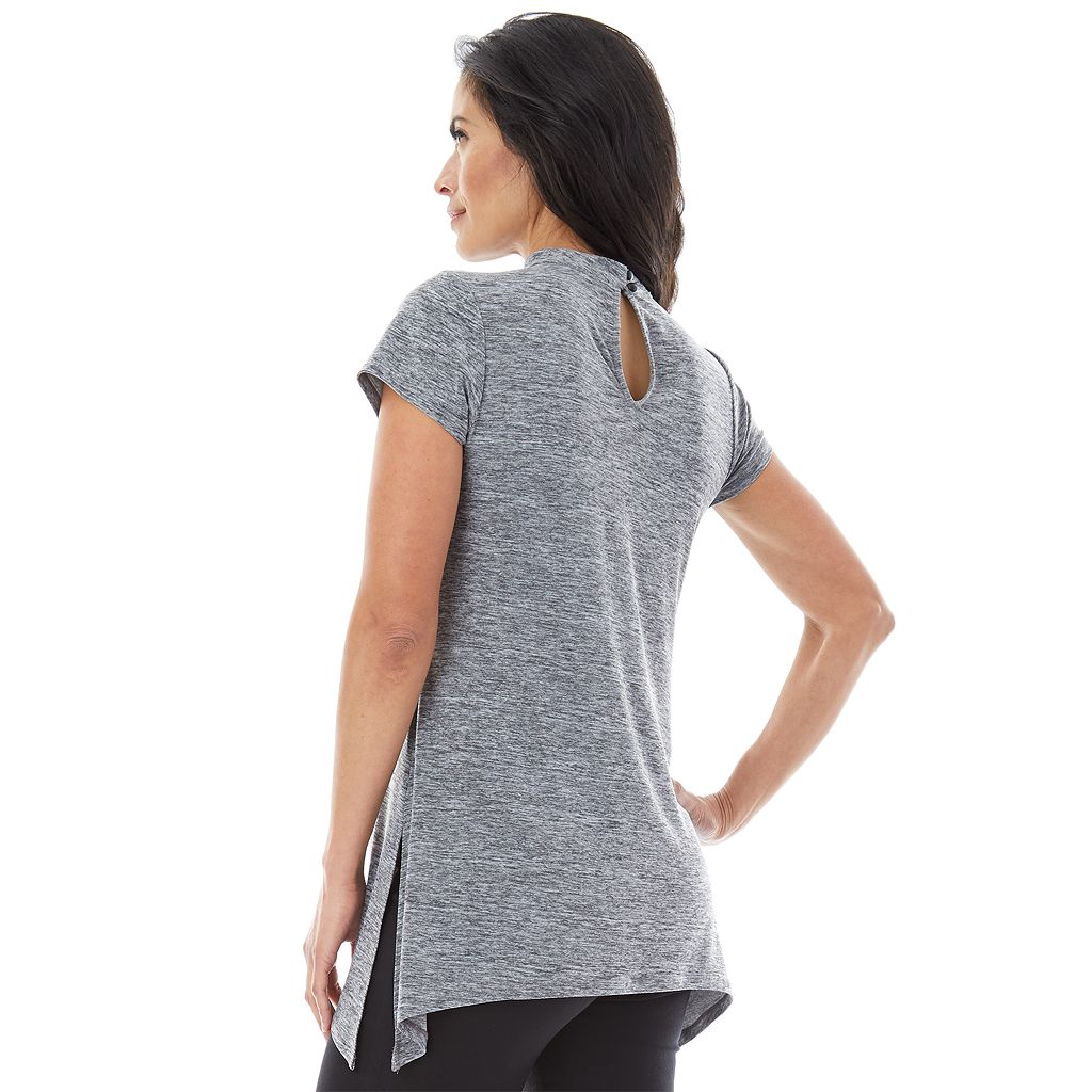 Women's AB Studio Cutout Tee