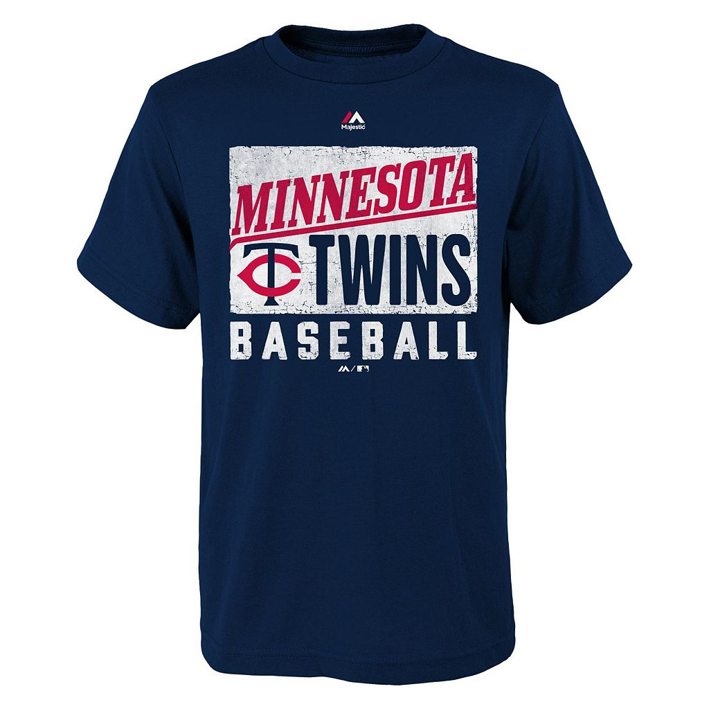 Boys 8-20 Majestic Minnesota Twins Out of the Box Tee