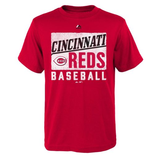 Boys 8-20 Majestic Cincinnati Reds Out of the Box Tee