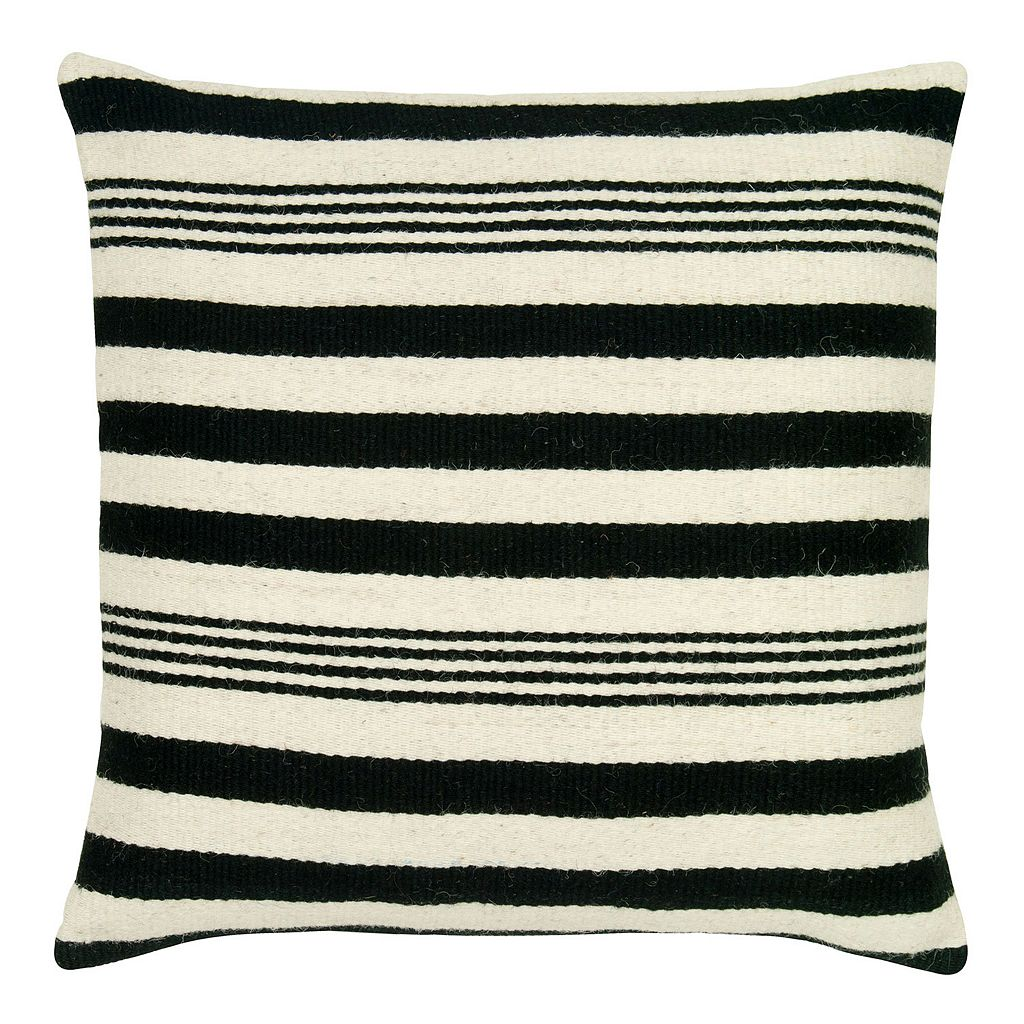 Rizzy Home Vertical Stripe Throw Pillow