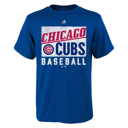 Boys 8-20 Majestic Chicago Cubs Out of the Box Tee