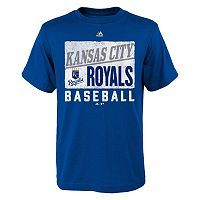 Boys 8-20 Majestic Kansas City Royals Out of the Box Tee