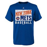Boys 8-20 Majestic New York Mets Out of the Box Tee