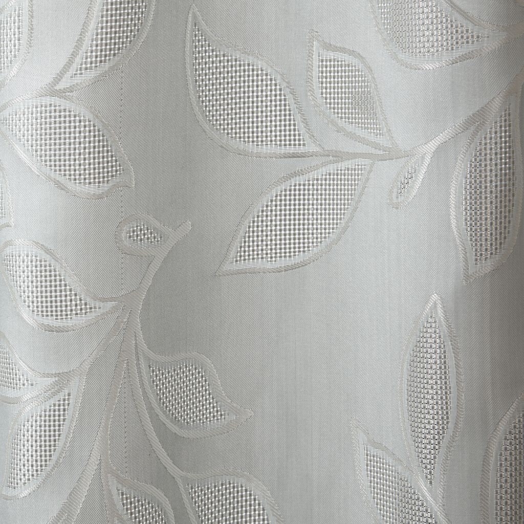 Madison Park Pearl Leaf Jacquard Window Curtain