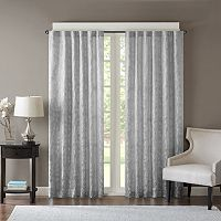 Madison Park Pearl Leaf Jacquard Curtain