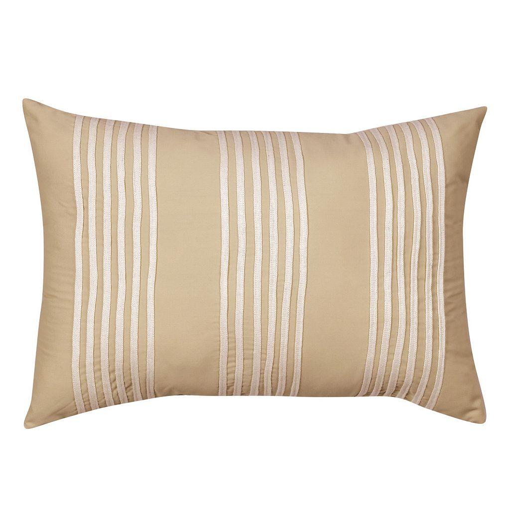Always Home Sena Breakfast Stripe Throw Pillow