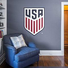 USA Soccer Men's National Team Crest Wall Decal by Fathead