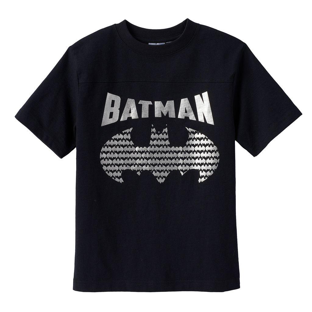 Boys 4-7 DC Comics Batman Logo Tee