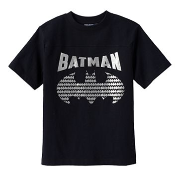 Boys 4-7 DC Comics Batman Logo Tee