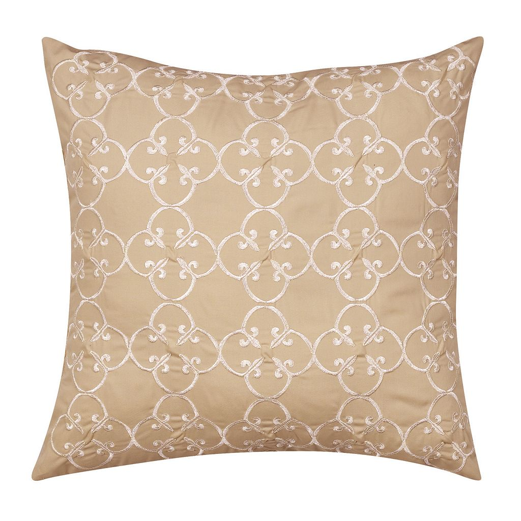 Always Home Sena Embroidered Medallion Throw Pillow