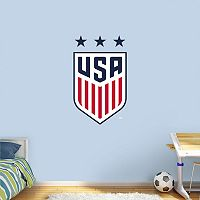 USA Soccer Women's National Team Crest Wall Decal by Fathead