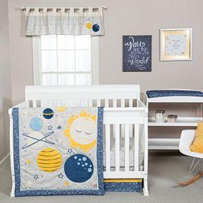 Trend Lab Galaxy 3-pc. Crib Bedding Set