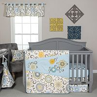 Waverly Baby by Trend Lab Pom Pom Spa 4 pc Crib Bedding Set
