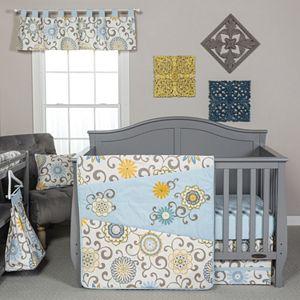 Waverly Baby by Trend Lab Pom Pom Spa 4-pc. Crib Bedding Set