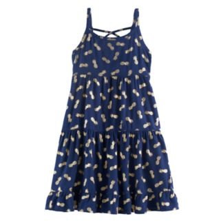 Girls 4-10 Jumping Beans® Floral Tiered Dress