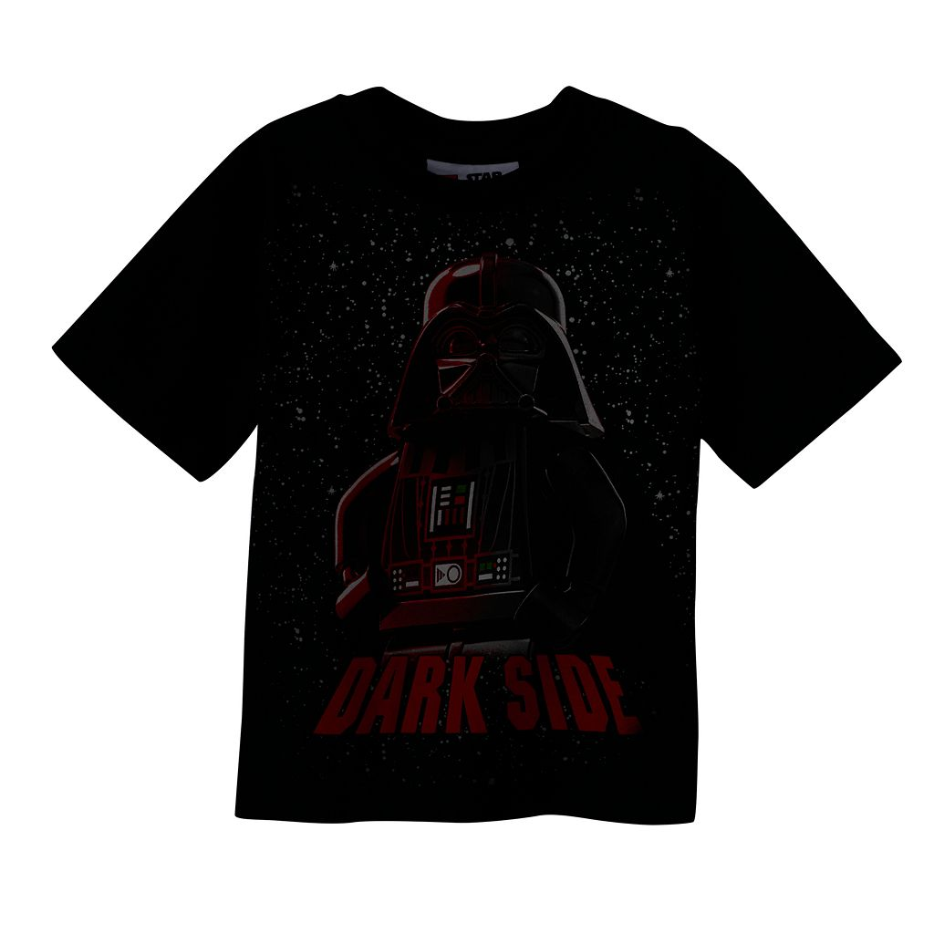 Boys 4-7 LEGO Star Wars Glow-in-the-Dark Darth Vader Tee