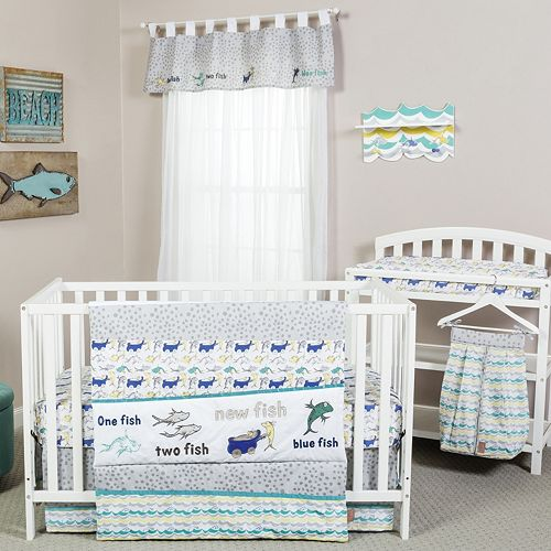 Dr. Seuss New Fish 5-pc. Bedding Set by Trend Lab