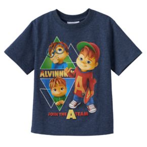 """Boys 4-7 Alvin & the Chipmunks """"Join the A Team"""" Graphic Tee"""