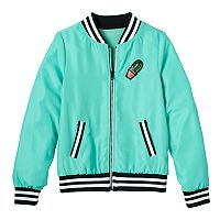Girls 7-16 SO® Woven Bomber Jacket