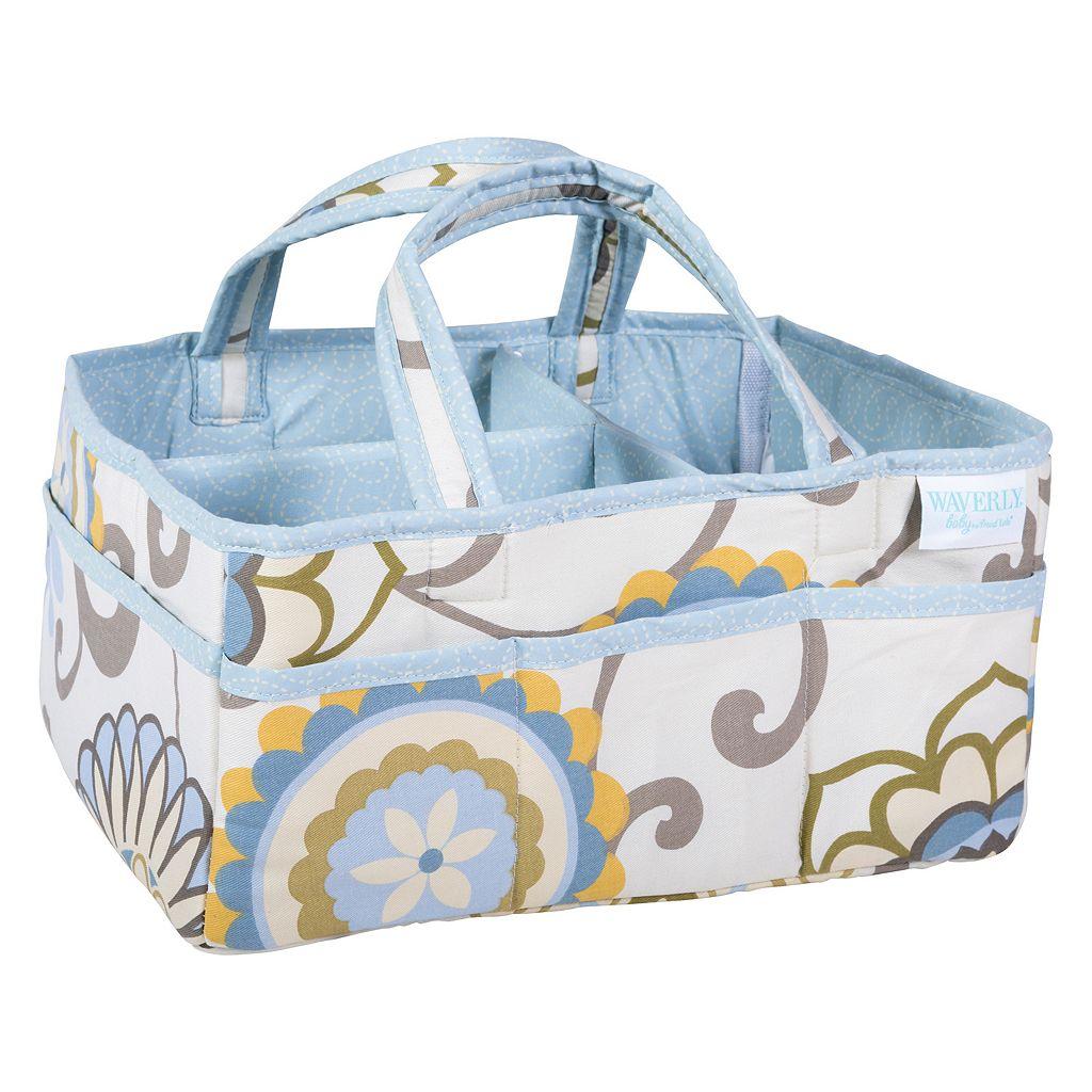 Waverly Baby by Trend Lab Pom Pom Spa Diaper Caddy