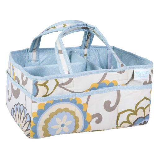 Waverly Baby by Trend Lab Pom Pom Spa Diaper Caddy