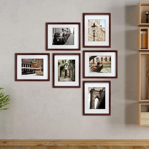 Kiera Grace Gallery 8 x 10 Frame 6-piece Set
