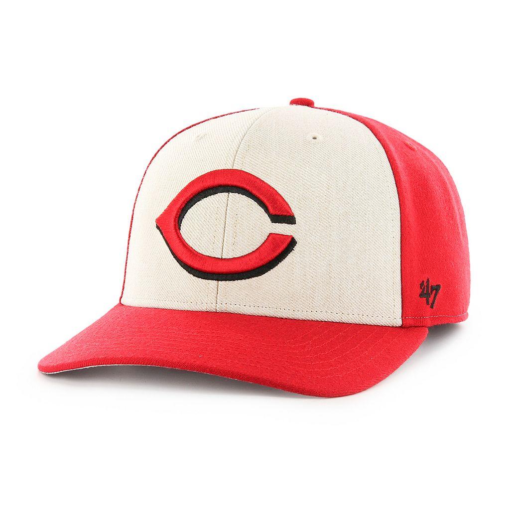 Adult '47 Brand Cincinnati Reds Inductor MVP Adjustable Cap