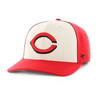 Adult '47 Brand Cincinnati Reds Inductor MVP Adjustable Cap