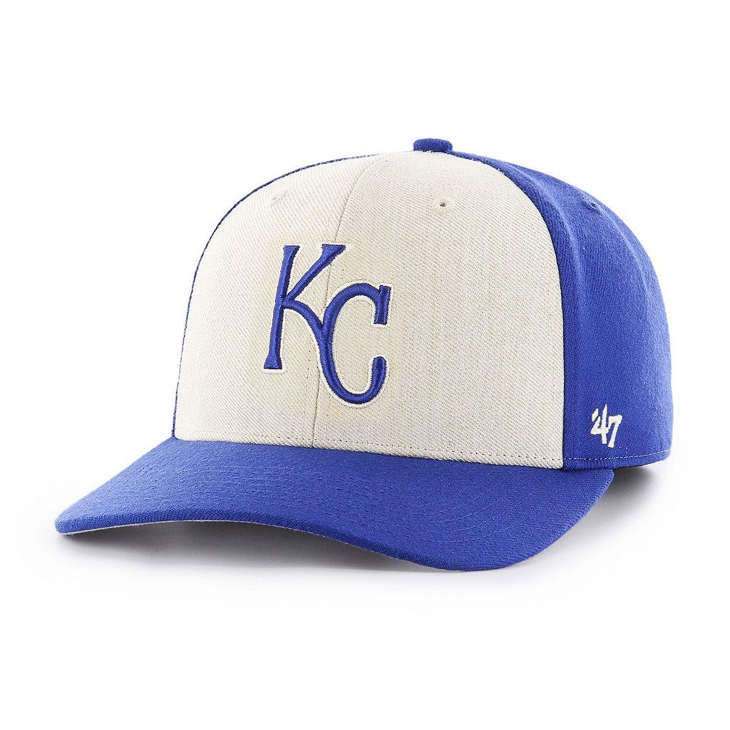 Adult '47 Brand Kansas City Royals Inductor MVP Adjustable Cap