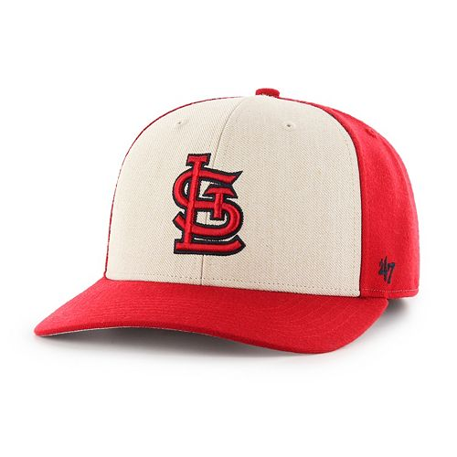 Adult '47 Brand St. Louis Cardinals Inductor MVP Adjustable Cap