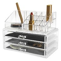 Kiera Grace Makeup & Jewelry Storage Organizer 2 pc Set