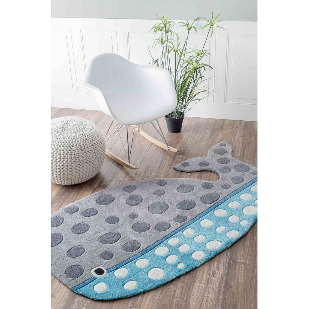 nuLOOM Lineage Drayton Whale Rug - 3' x 5'7''