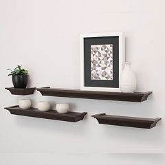 Kiera Grace Classic Ledge Wall Shelf 4-piece Set