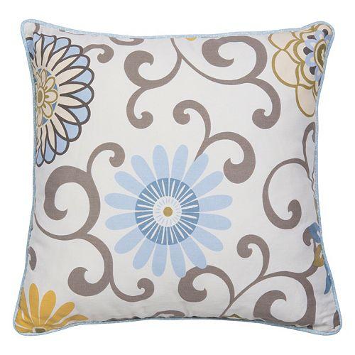 Waverly Baby by Trend Lab Pom Pom Spa Decorative Pillow