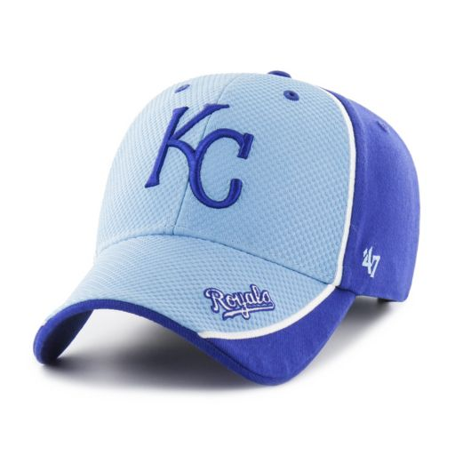 Adult '47 Brand Kansas City Royals Kobuck MVP Adjustable Cap