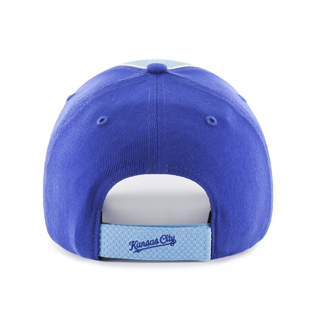 Adult '47 Brand Kansas City Royals Kobuck MVP Adjustable Cap
