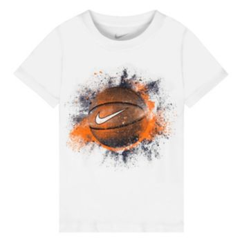 Boys 4-7 Nike Exploding Basketball Graphic Tee