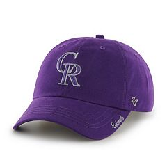 Women's '47 Brand Colorado Rockies Miata Clean Up Cap