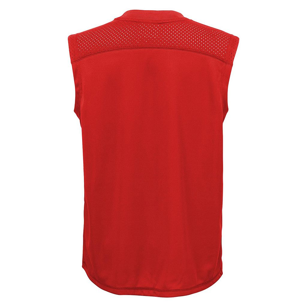 Boys 8-20 Majestic St. Louis Cardinals Foul Line Muscle Tee