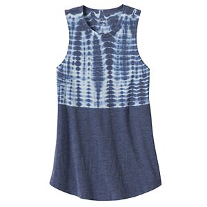 Girls 7-16 & Plus Size Mudd® Patterned Graphic Tank Top