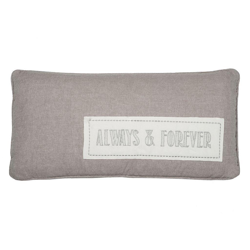 Levtex ''Always & Forever'' Throw Pillow