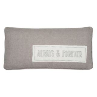 Levtex ''Always & Forever'' Throw Pillow