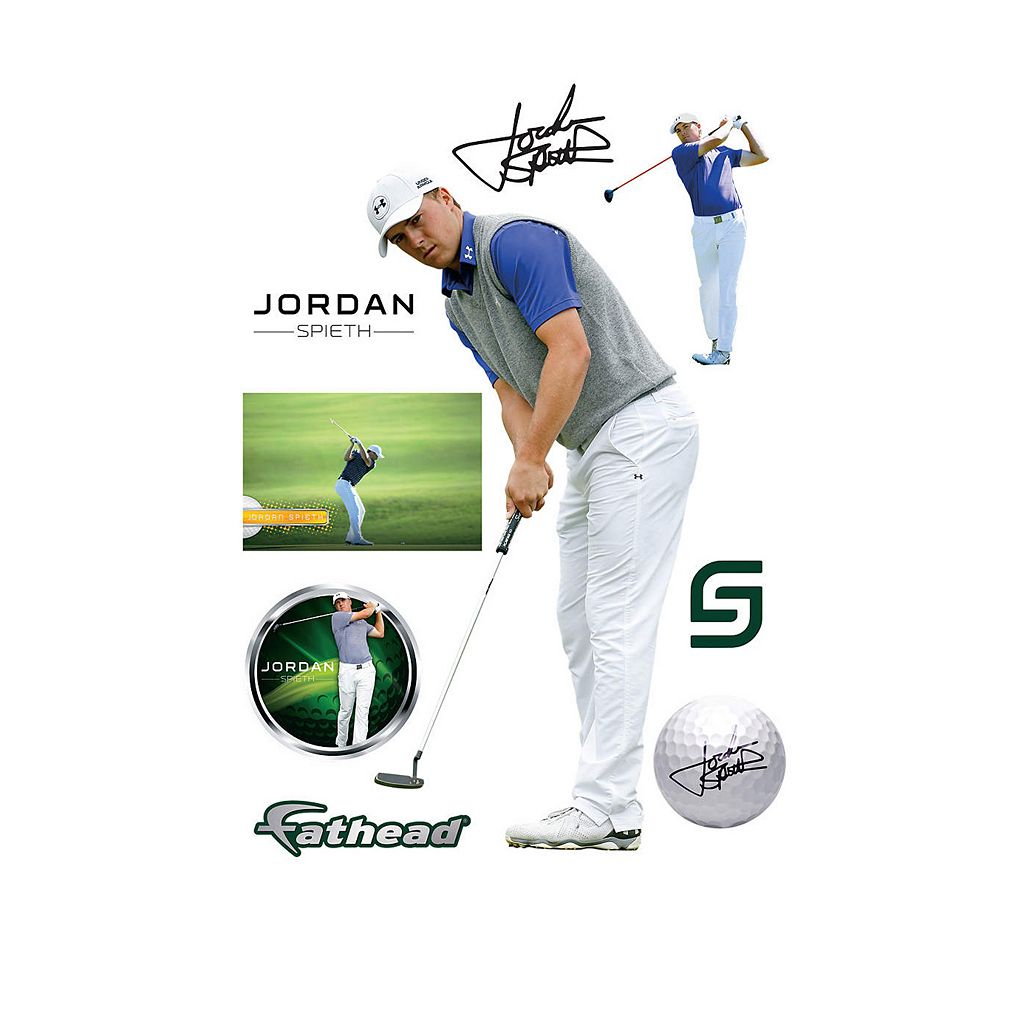 Jordan Spieth Putting Wall Decal by Fathead